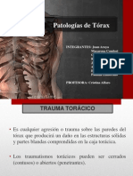 Patologia de Torax