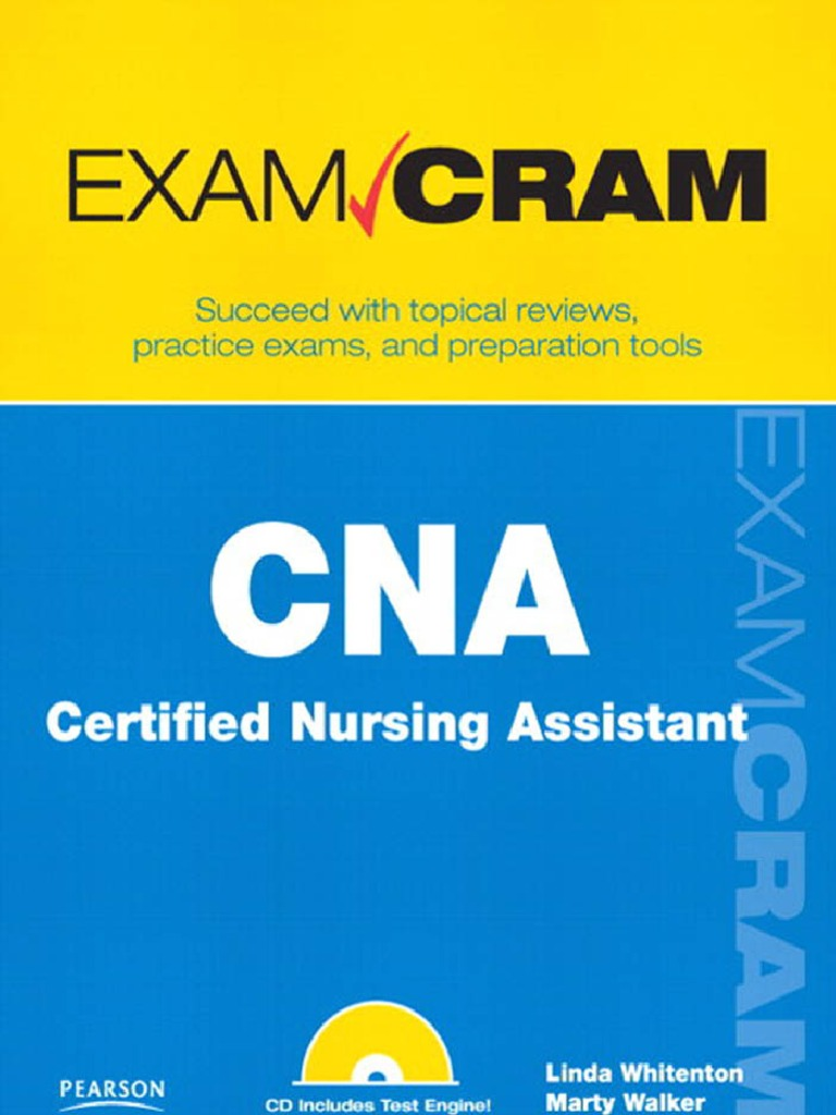 Cna Certified Nursing Assistant Exam Cram Test Assessment