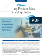 Pfizer - Moving Product Sales Training Online (Sep 11)