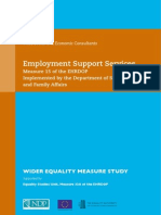 Measure 15 Employment Support Services Wider Equality Study PDF2424523523452345235245234523654632543245
