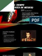 Linea Del Tiempo (Presidentes de Mexico)
