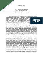 Sartre - Una Idea Fundamental de La Fenomenología