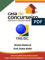 Apostila TRE-SC Direito Eleitoral Pedro Kuhn Ead