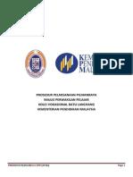 Prosedur Perlantikan Majlis Perwakilan Pelajar Kolej Vokasional