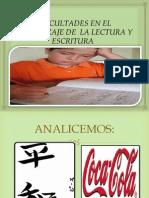 Problemas de Aprendizaje Para La Lectura.iipptx