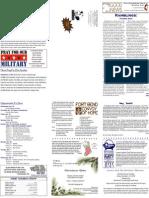 11-24-2009 Newsletter