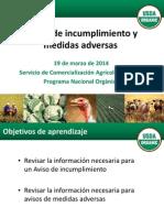 Organico Usda Nop en Espanol