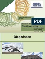 Encarando El Cambio Climático en El Perú