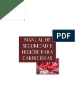 Manual de Seguridad e Higiene Para Carnicerías