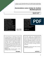 El neoinstitucionalismo como unidad de analisi multidisciplinario. Gabriel Perez Perez.pdf