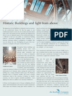 History of Rooflighting