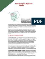 Los 12 Principios Para Mejorar El Hígado