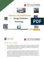 Vertical Transport Elevator Design