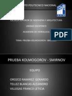 Prueba Kolmogorov - Smirnov (2)