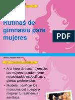 Rutinas de Gimnasio Para Mujeres