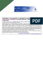 La Carta de CEAAL No. 345