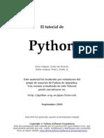 El Tutorial de Python