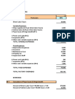 Flexible Budget Examples( Chapter 18)