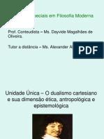 Tópicos Especiais Em Filosofia Moderna