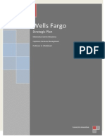 Wells Fargo Strategic Plan
