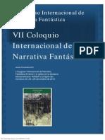 I Congreso Internacional de Narrativa Fantástica