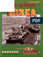 Tank Warfare in Korea 1950 1953