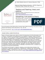 Coteaching Praxis to Theory