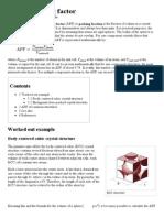 Atomic Packing Factor - Wikipedia, The Free Encyclopedia
