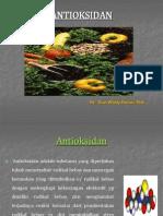 ANTIOKSIDAN kimia pangan