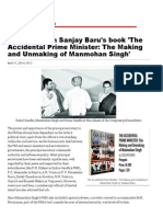 Excerpts From Sanjay Baru's Book 'the Accidental Prime Minister_ the Making and Unmaking of Manmohan Singh'_ India Today