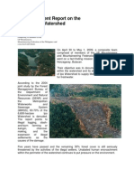 2009-05-01 An Independent Report on the State of Ipo Watershed