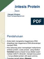 Biosintesis Protein Biokim II Inw