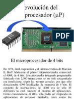 La Evolucion de Los Microprocesadores