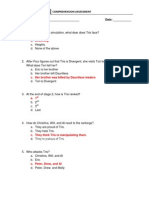 chapters 20-27 comprehension assessment key