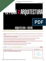 El Plan Z Arquitectura_ Steven Holl, Residencia Simmons Hall