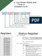 MSP430TimerA Interrupts