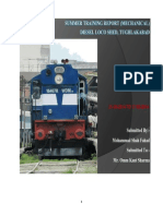 Summer Training-Diesel Loco Shed 2014, Tughlakabad