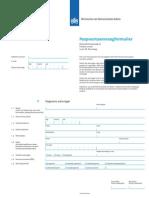 paspoort aanvraag formulier