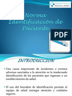 Norma Identificacion de Paciente.power Point