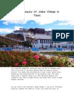 Rare Beauty of Jieba Village in Tibet