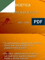 Los Principios Bioeticos 2014