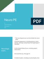 Neuro PE
