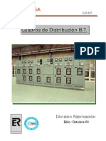 Cuadros de Distribucion de Baja Tension