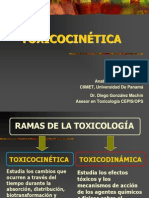 Toxiccocinetica y Toxicodinamia