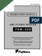FSM 50S Manual