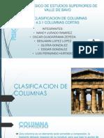 Clasificacion de Columnas