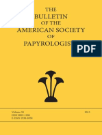 Claytor 2013_A Schedule of Contracts and a Private Letter P.Fay. 344, BASP 50.pdf