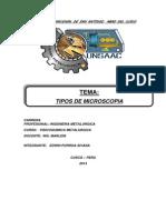 Informe de Microscopio