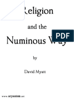 Religion and the Numinous Way