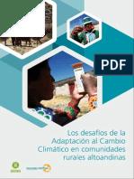 Los Desafíos de La Adaptación Al Cambio Climático en Comunidades Rurales Altoandinas Vfinal